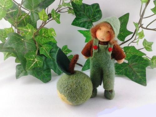 Apfel - grün - Junge Jahreszeitentisch