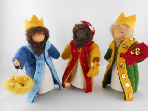 Heilige Drei Könige - Krippe Jahreszeitentisch