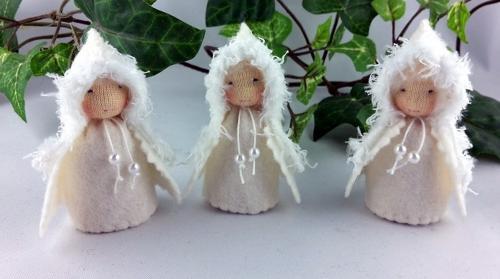 Schneeflöckchen / Schneezwerg Jahreszeitentisch, 1 Stück